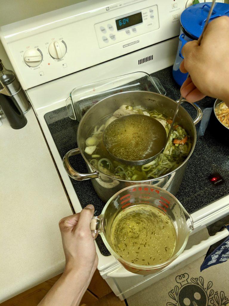 Meal 1 - Poule-au-Bouillon Part 2