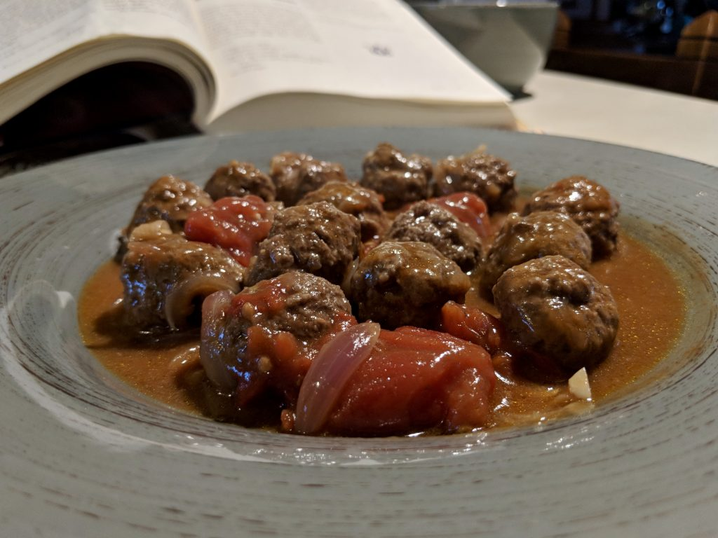 Meal 19 - Sweet & Sour Meatballs