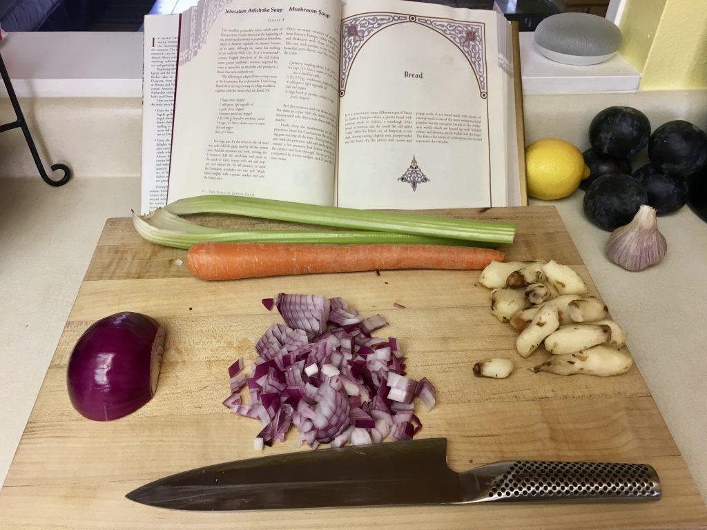 Meal 25 - Jerusalem Artichoke Soup