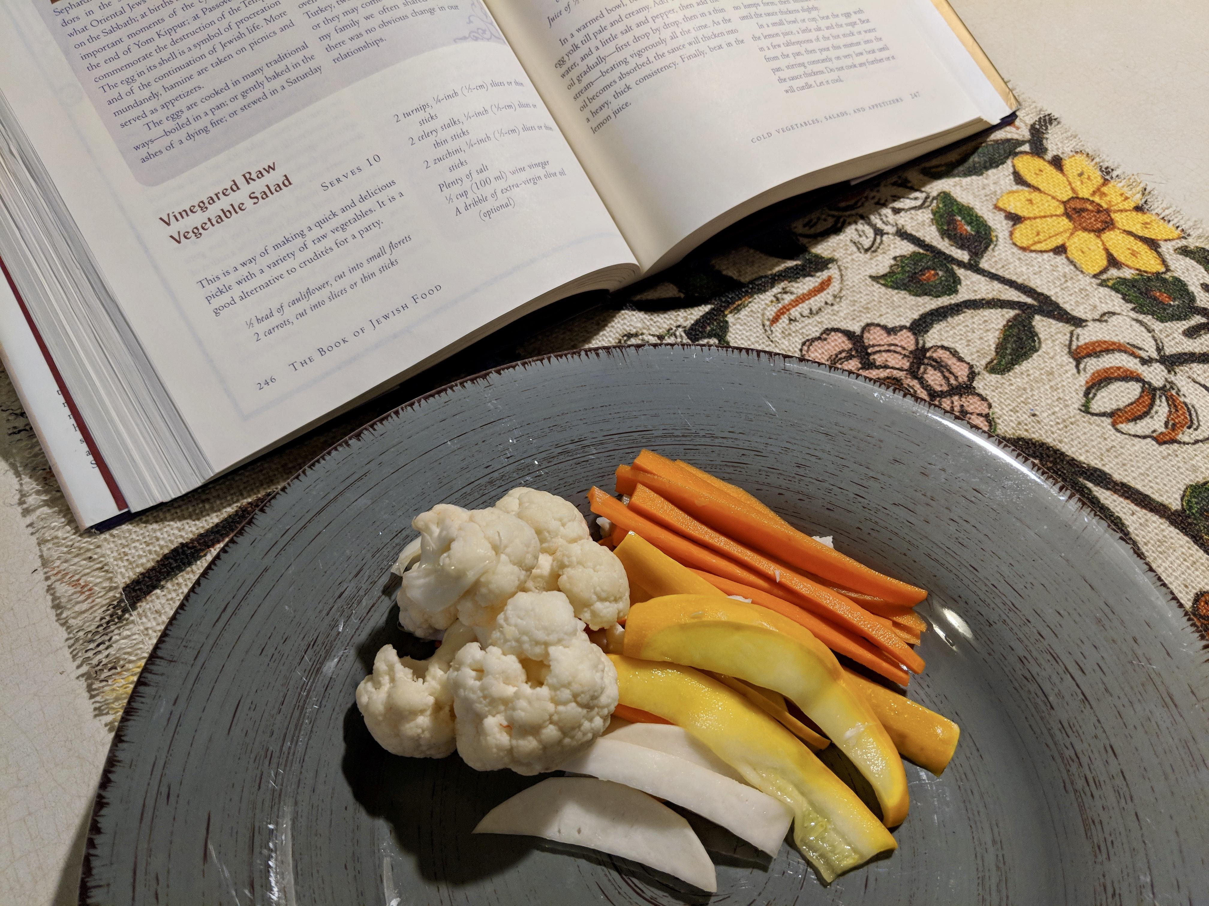 Meal 30 - Vinegared Vegetable Salad