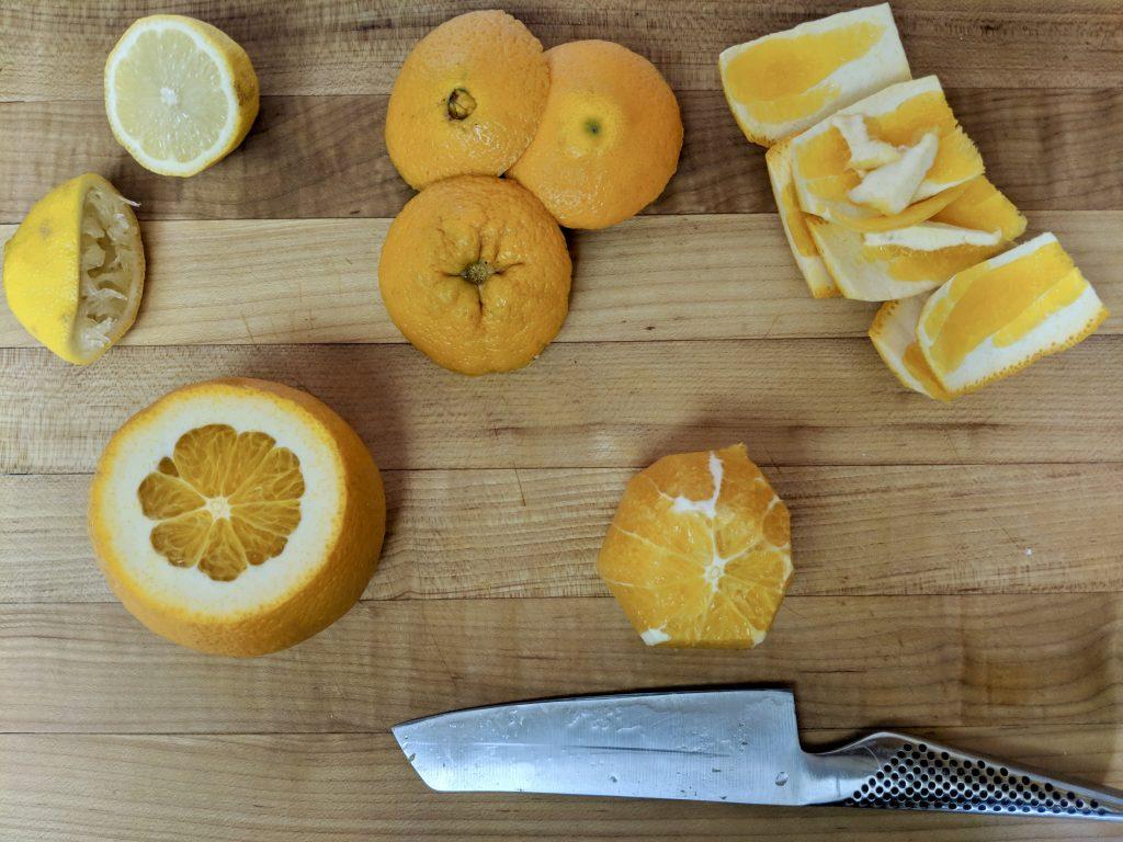 Meal 33 - Orange Salad with Olives