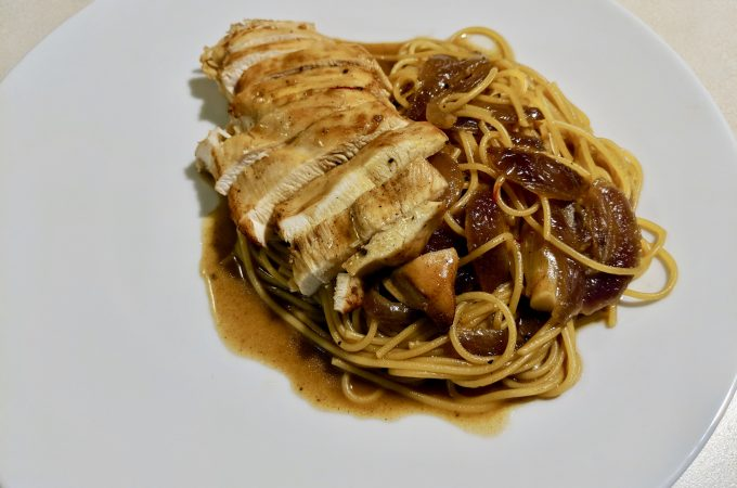 Treya – Chicken with Spaghettini or Noodles