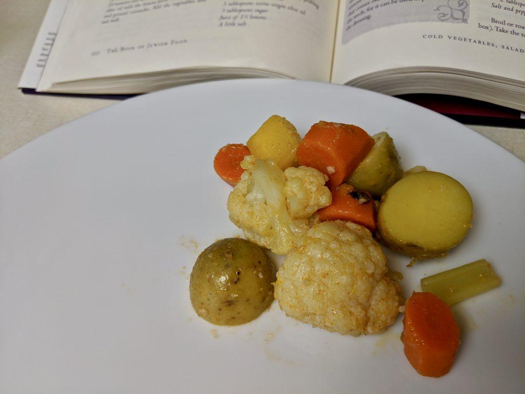 Meal 43 - Salade du Shabbat - Boiled Vegetable Salad