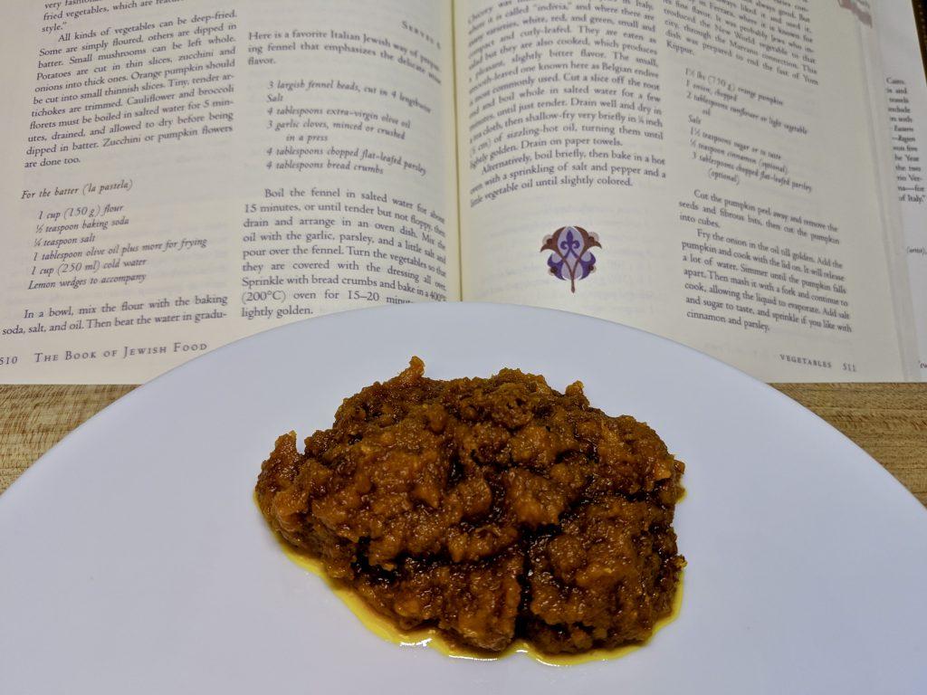 Meal 45 - 5/5 Zucca Disfatta - Pumpkin Puree