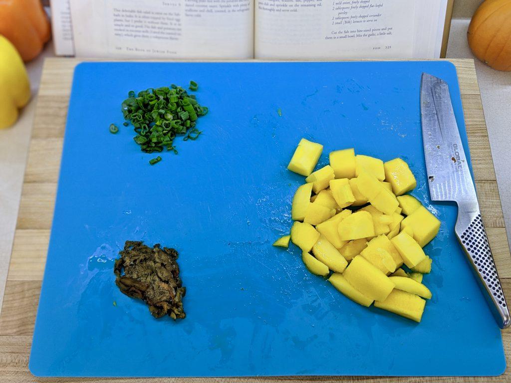 Meal 48 - Sardina - Fish & Mango Salad
