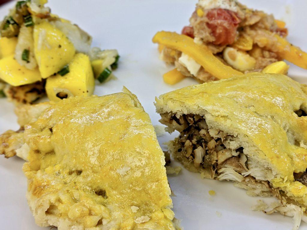 Meal 48 - Empanadas de Pishkado - Little Pies Filled with Fish & Walnuts