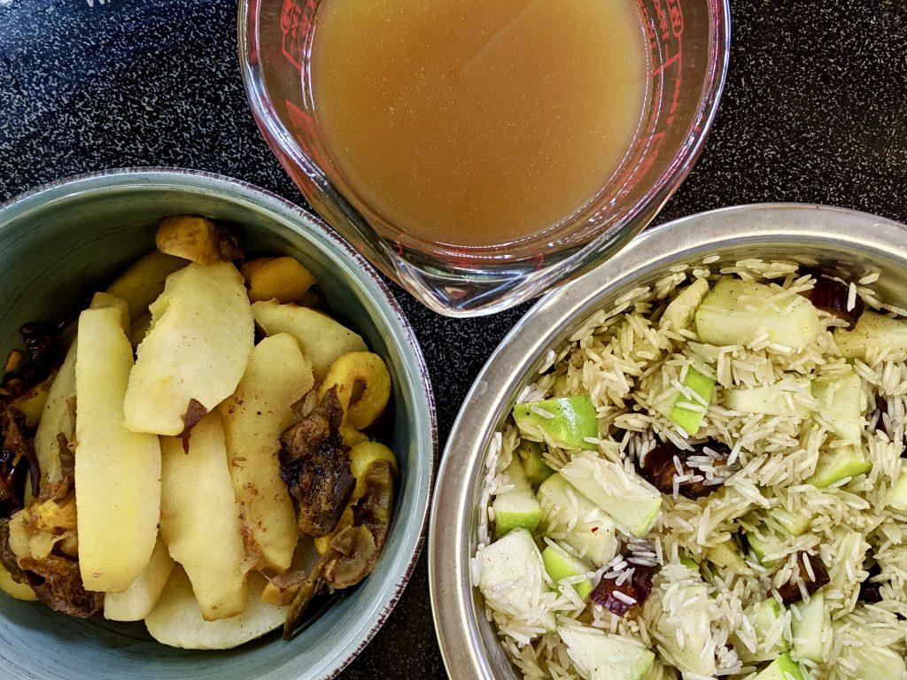 Meal 52 - Savo - Bukharan Rice with Fruit
