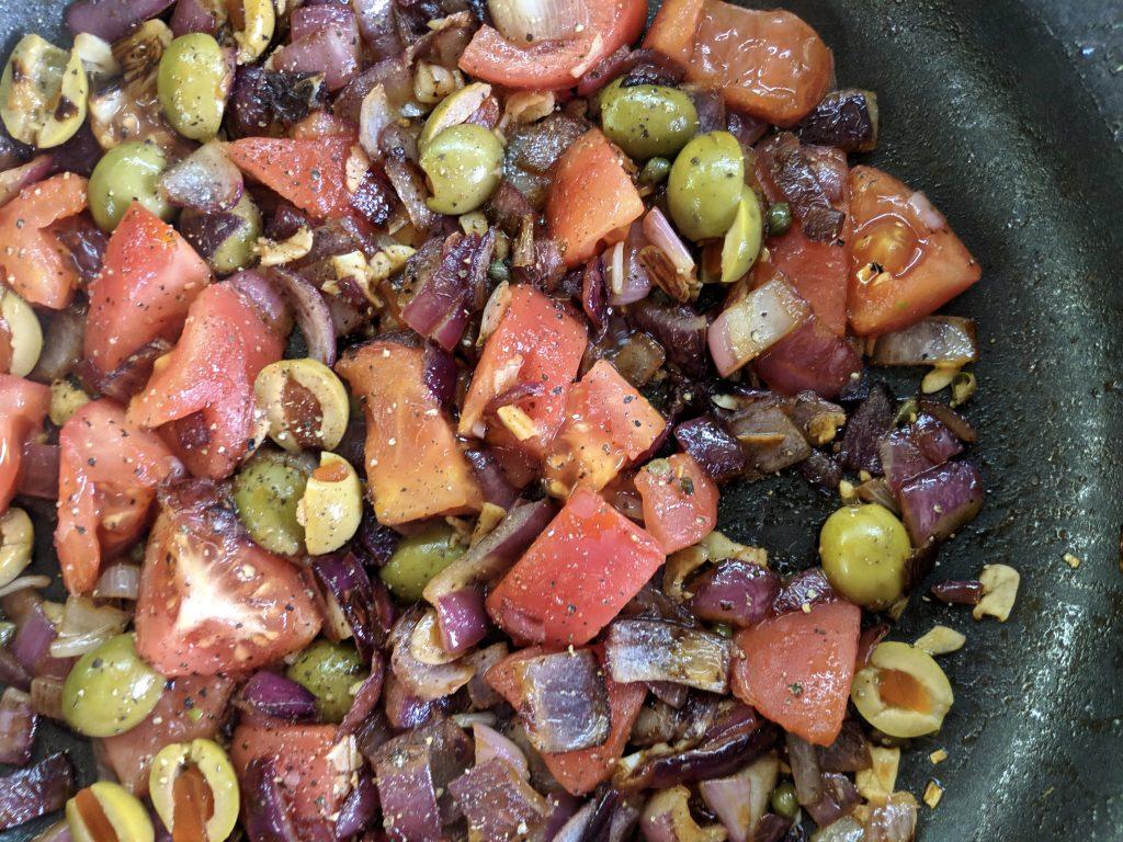 Meal 53 - Caponata all Giudea - Italian Eggplant Salad