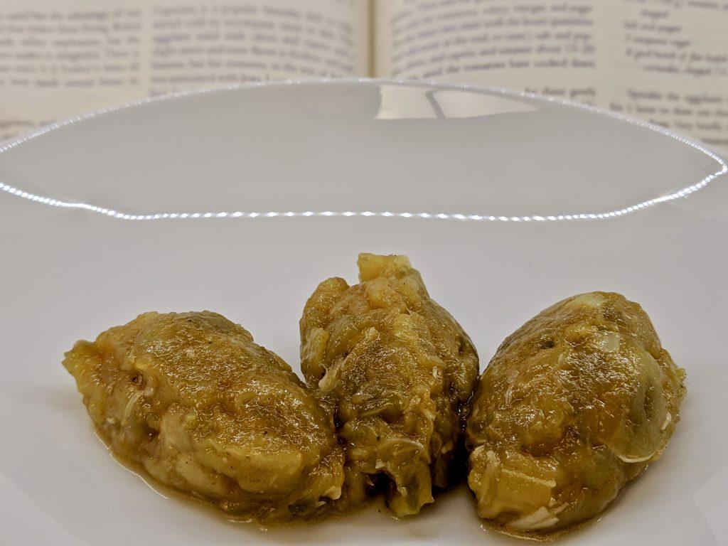 Meal 53 - Zaalouk d'Aubergines - Spicy Boiled Eggplant Salad