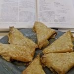 Meal 54 - Sansaticos - Nut-Filled Filo Triangles in Syrup