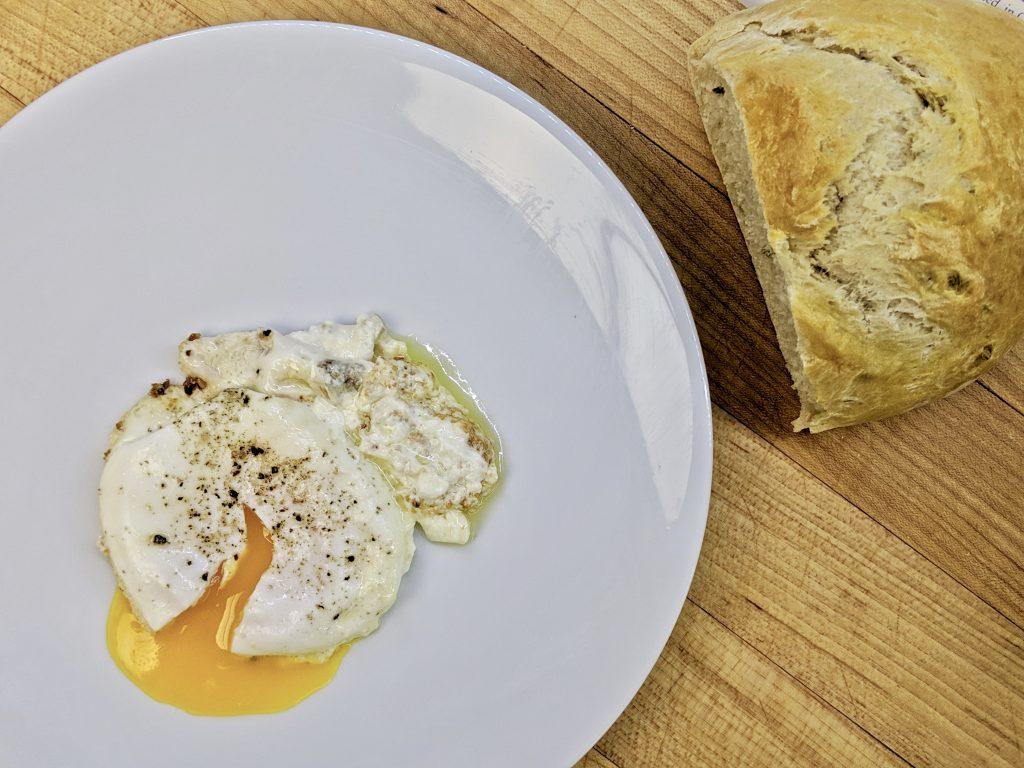 Meal 55 - Uevos kon Keso - Egg and Cheese