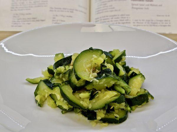 Ajlouk de Courgettes - Mashed Zucchini Salad