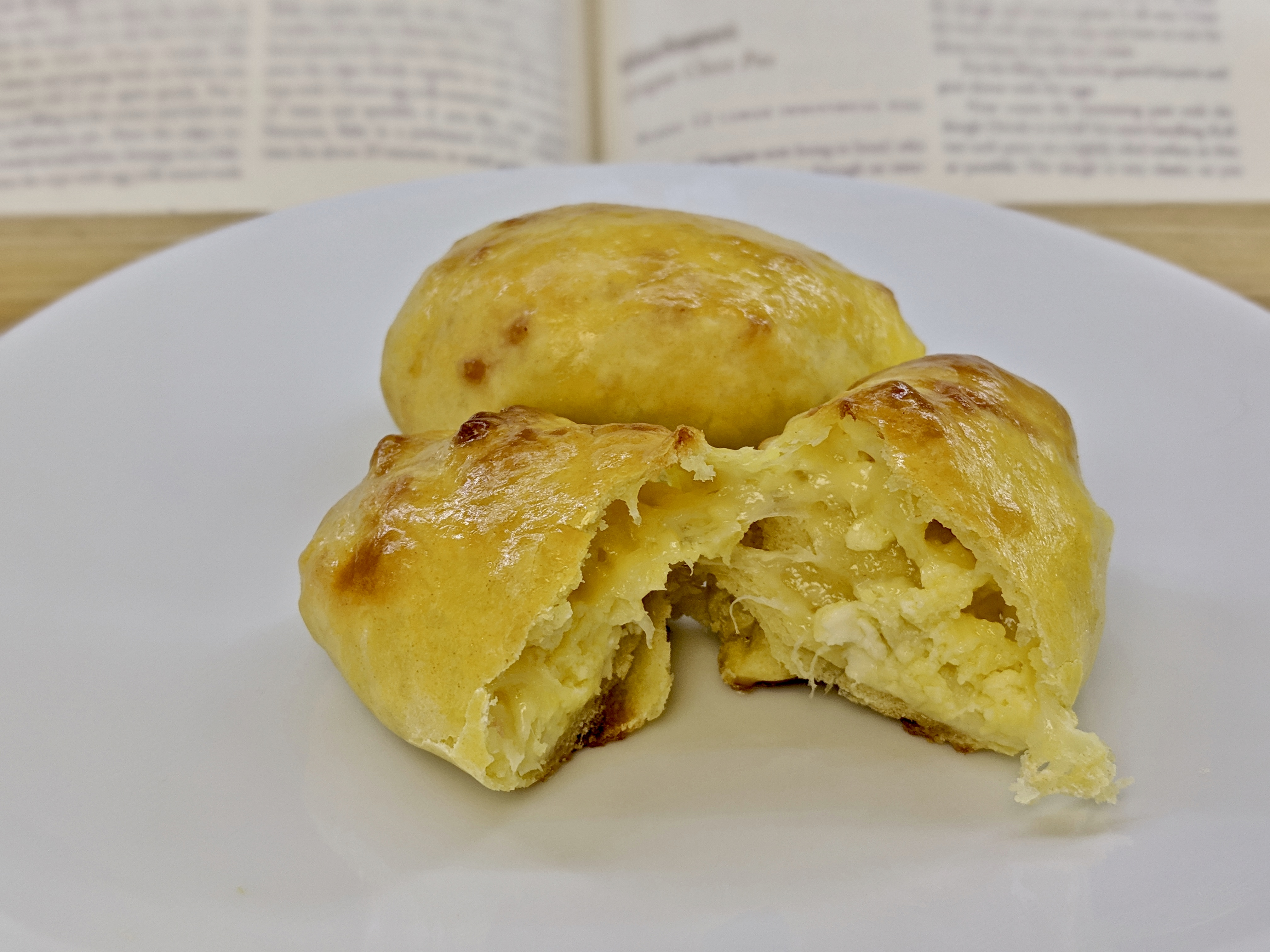 Khachapuri - Georgian Cheese Pies