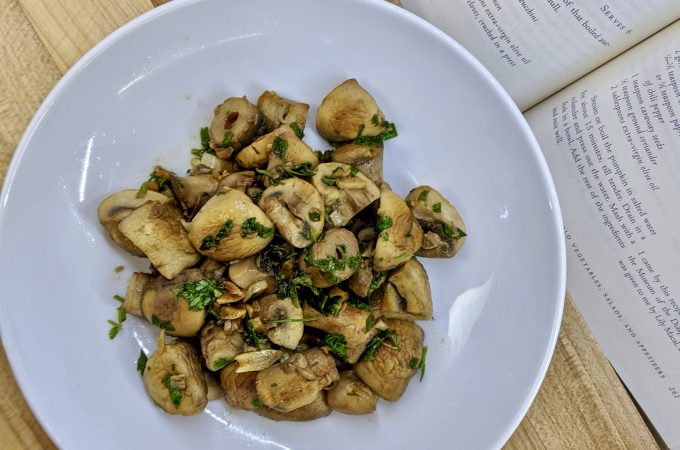 Mushrooms with Cumin Moroccan Style