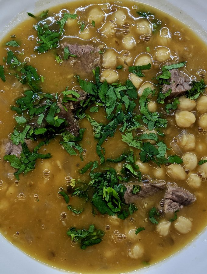 Harira – Moroccan Bean and Vegetable Soup