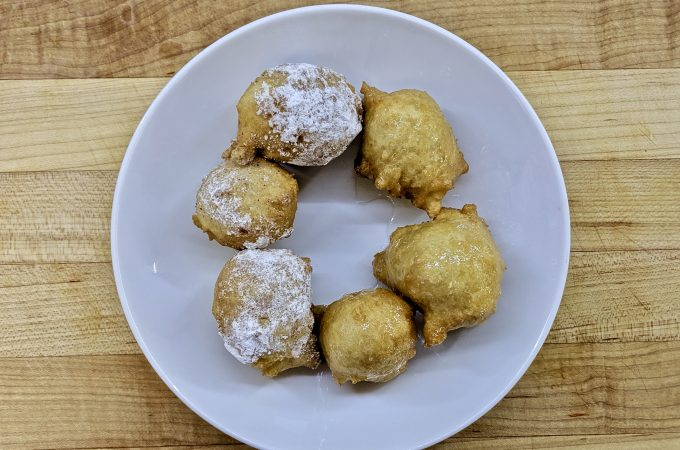Bimuelos or Zalabia – Fritters in Syrup
