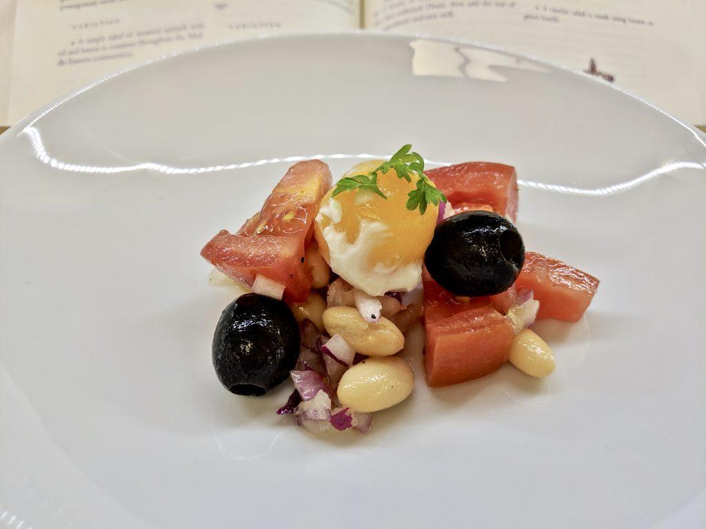 Meal 61 - Piyaziko - Dried White Haricot Bean Salad