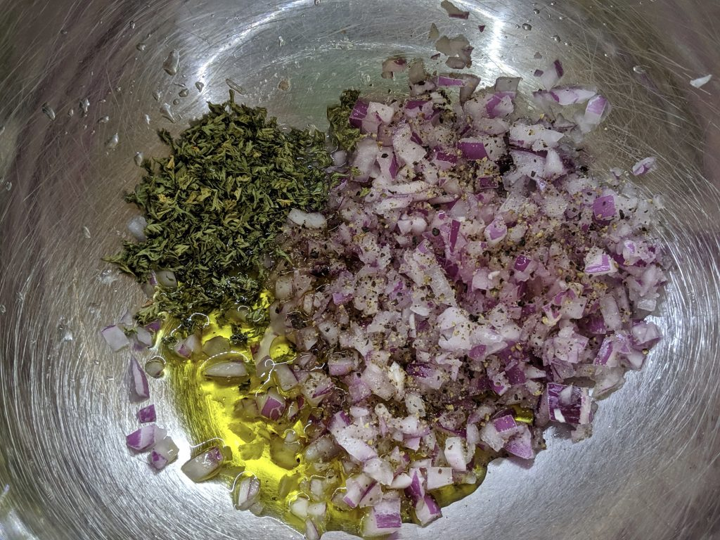 Meal 63 - Loubia - Black Eyed Pea Salad