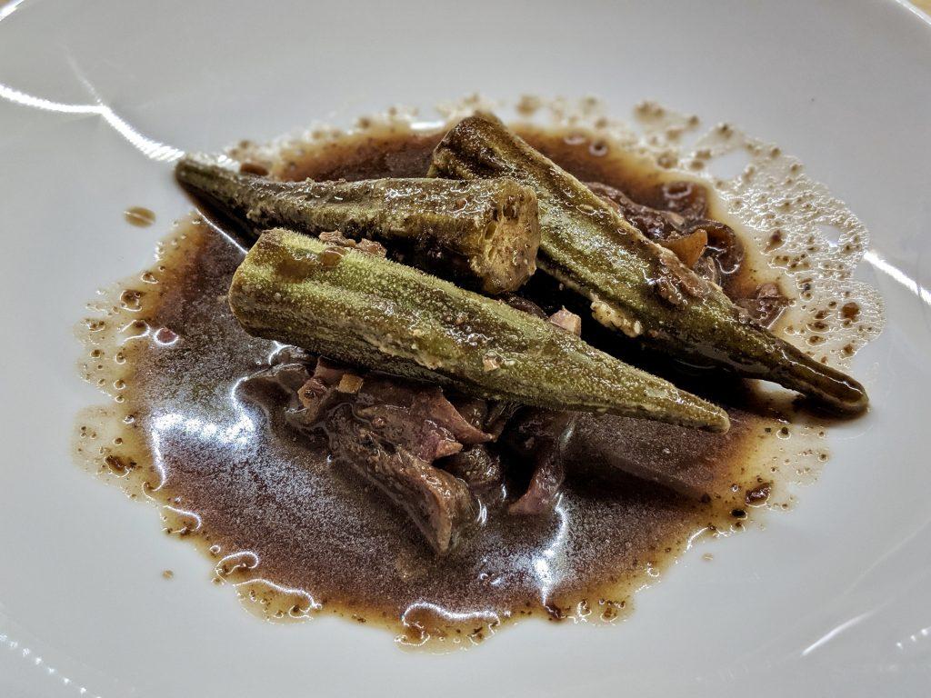 Meal 68 - Bamia bel Tamarhendi - Okra with Tamarind Syrian Style