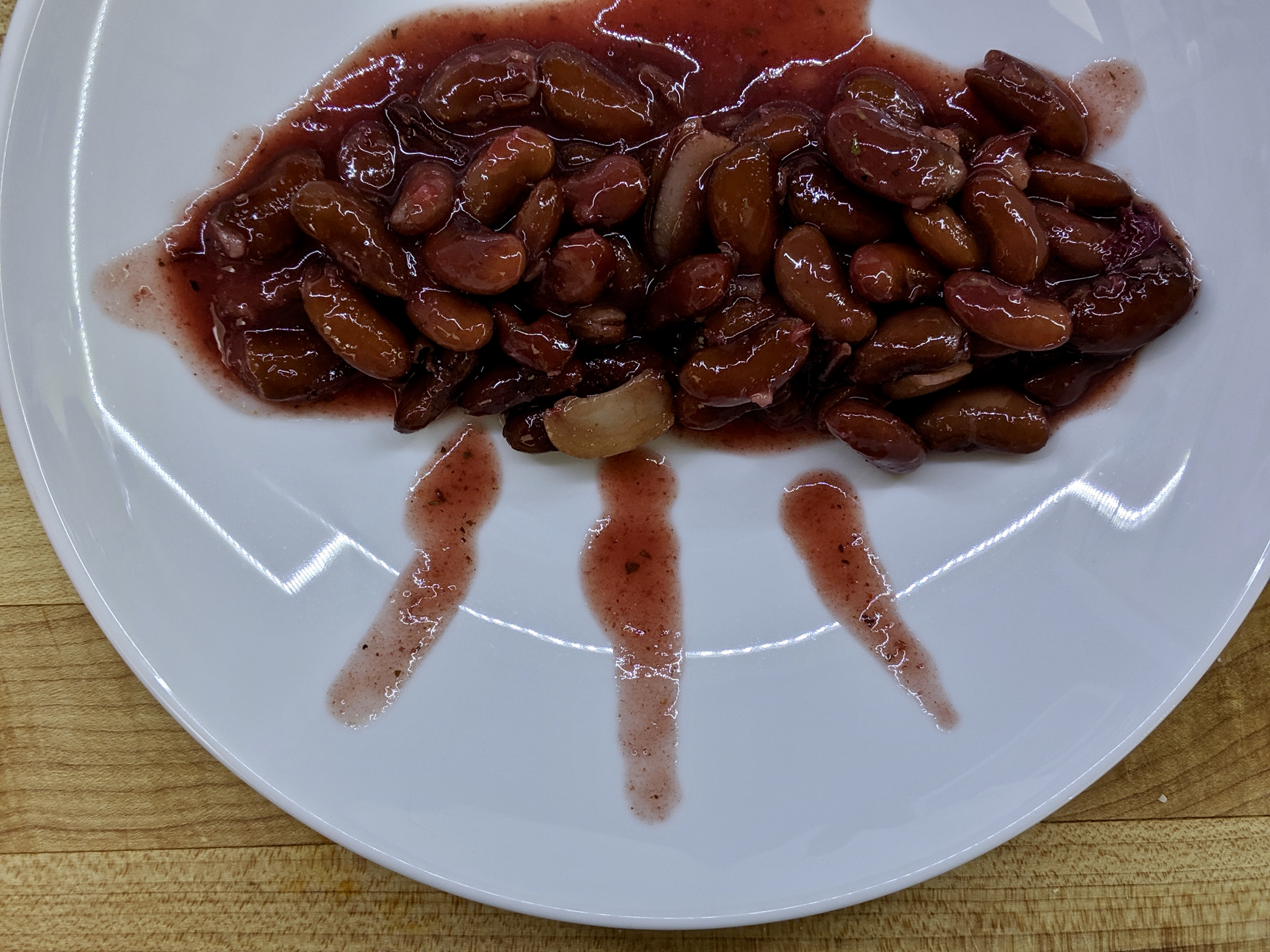 Meal 65 - Lobio Tkemali - Small Red Kidney Beans with Sour Plum Sauce