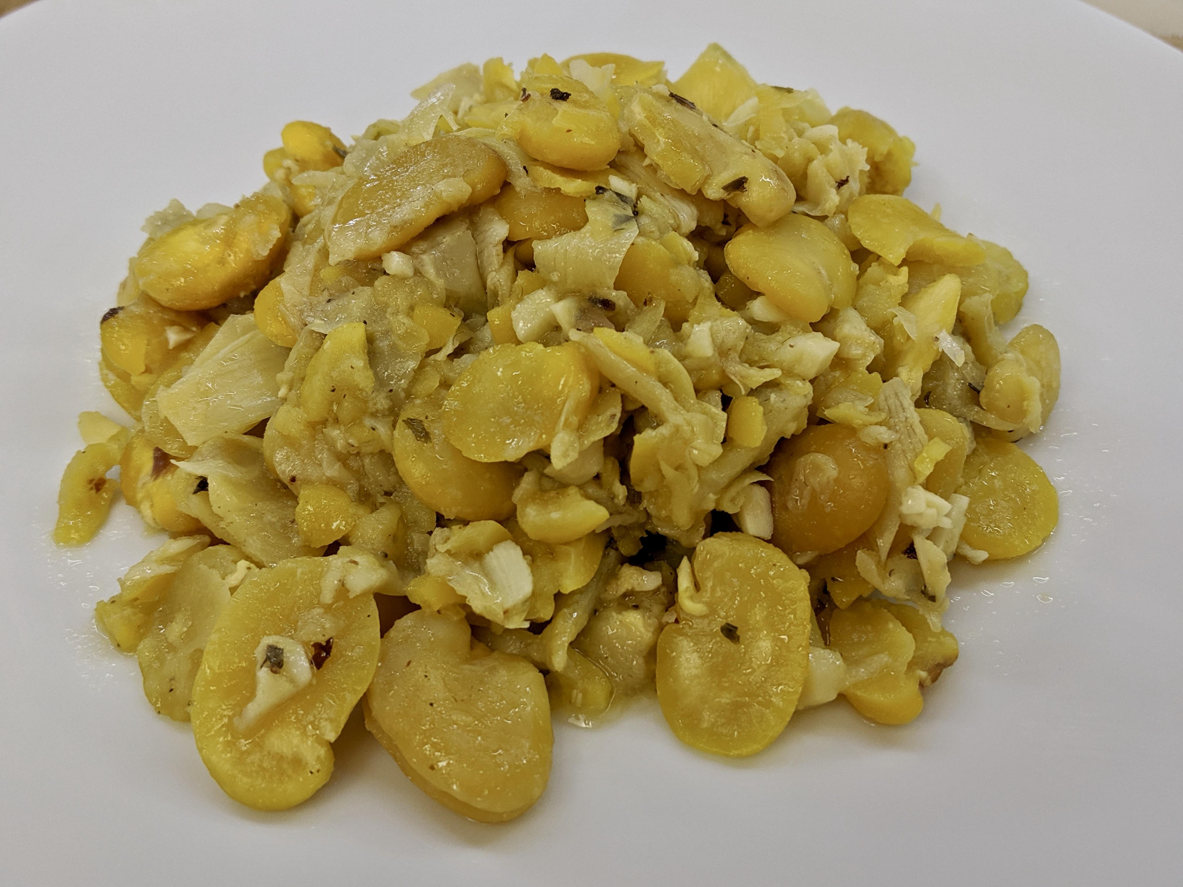 Meal 67 - Artichoke and Fava Bean Hearts