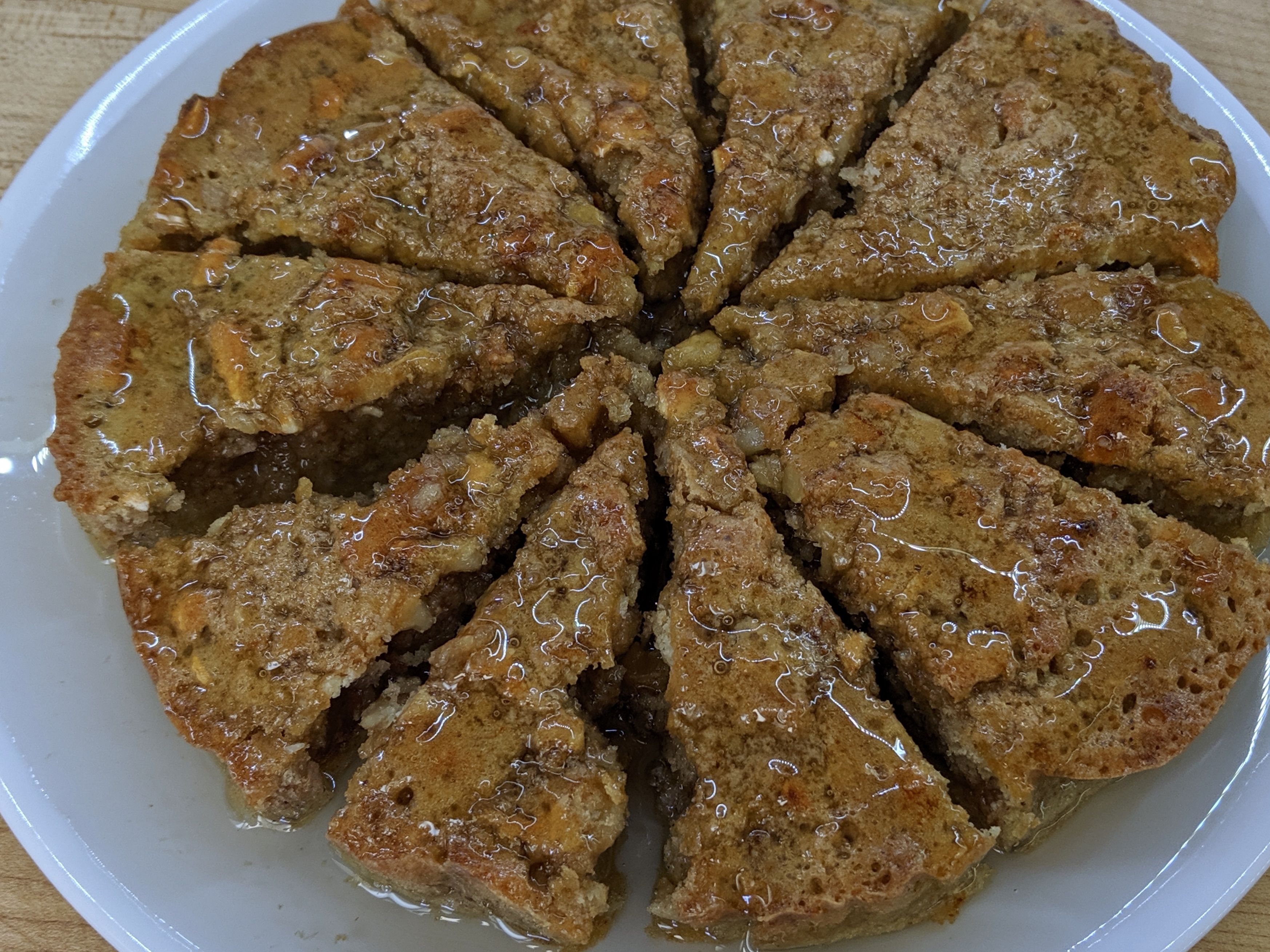 Meal 68 - Tishpishti - Passover Walnut Cake with Syrup