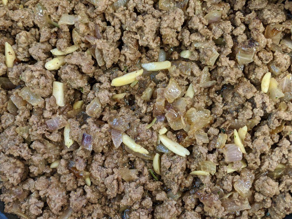 Meal 70 - Les Fila à la Viande - Little Meat Triangles