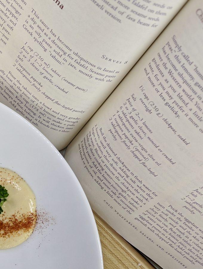 Meal 72 - Hummus bi Tehran - Chickpea and Tahini Dip
