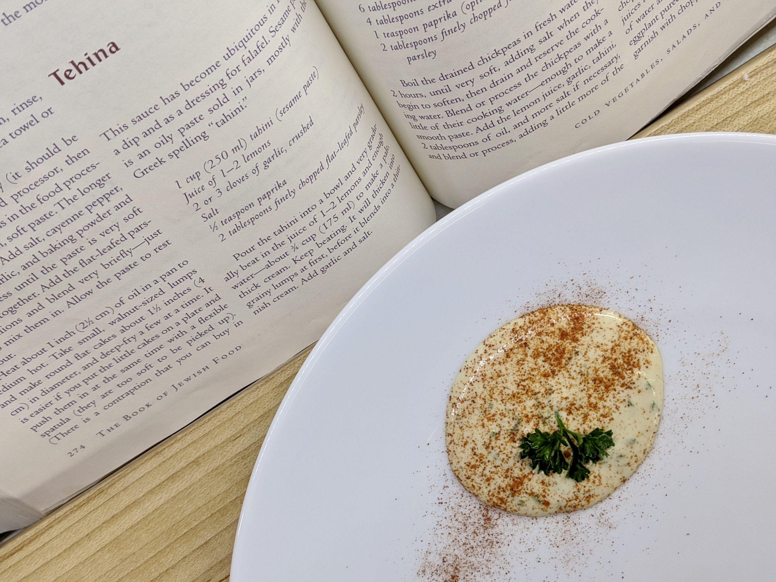 Meal 72 - Tehina