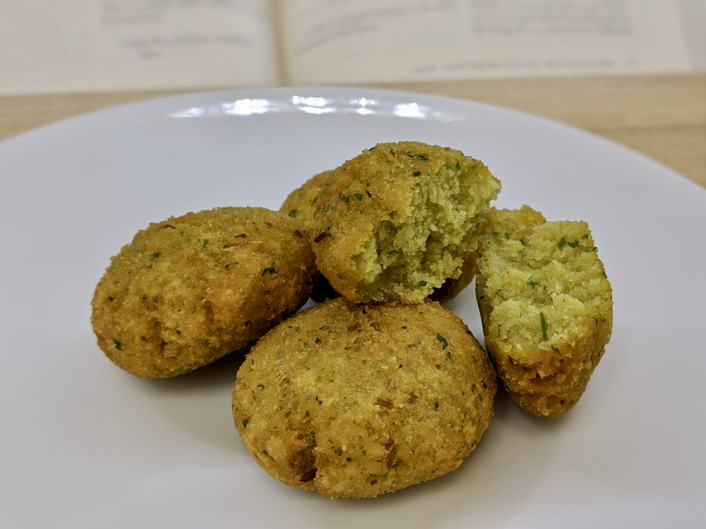 Meal 72 - Falafel - Fava Bean Fritters