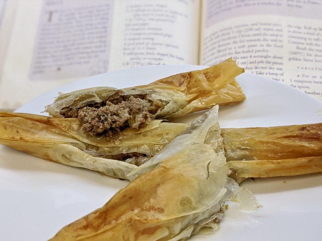 """Meal 74 - Cigares à la  Viande - Moroccan Meat """"Cigars"""""""