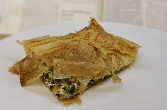 Meal 73 - Tarte Feuilletée aux Épinards - Spinach Pie