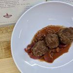 Kofta bil Karaz - Meatballs with a Sour Cherry Sauce