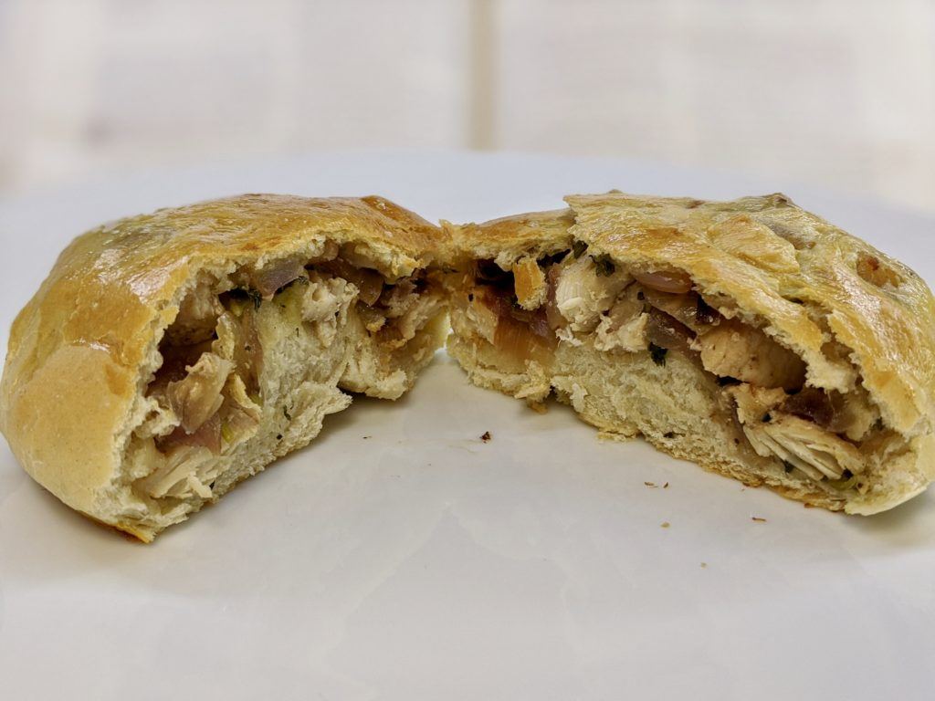 Meal 77 - Pita au Poulet - Chicken Pies with Bread Dough