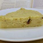 Meal 77 - Semolina and Coconut Sabbath Cake of the Bene Israel