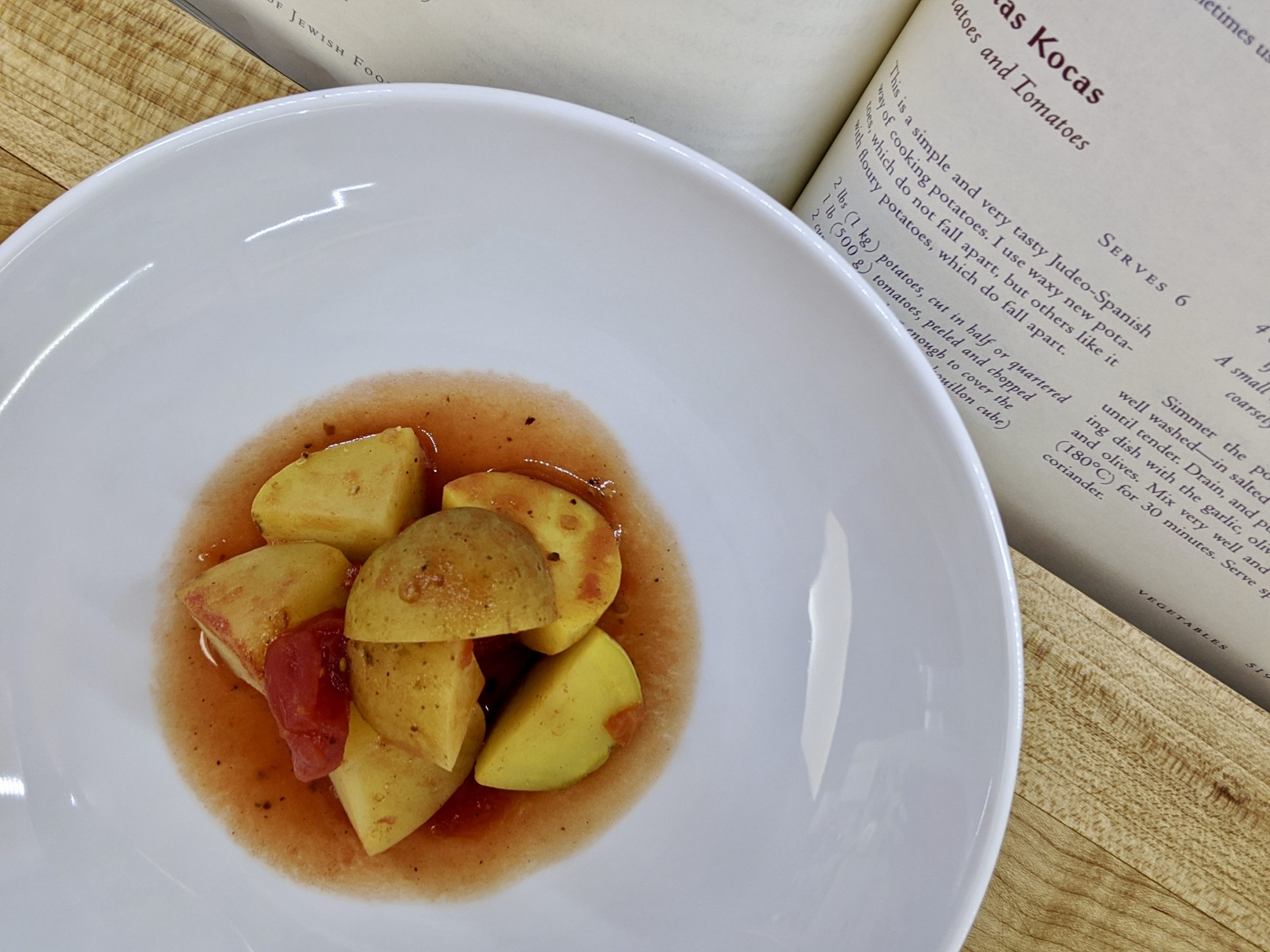 Meal 76 - Patatas Kocas - Potatoes and Tomatoes