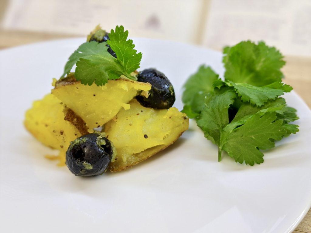 Meal 77 - Pommes de Terre aux Olives - Potatoes with Black Olives