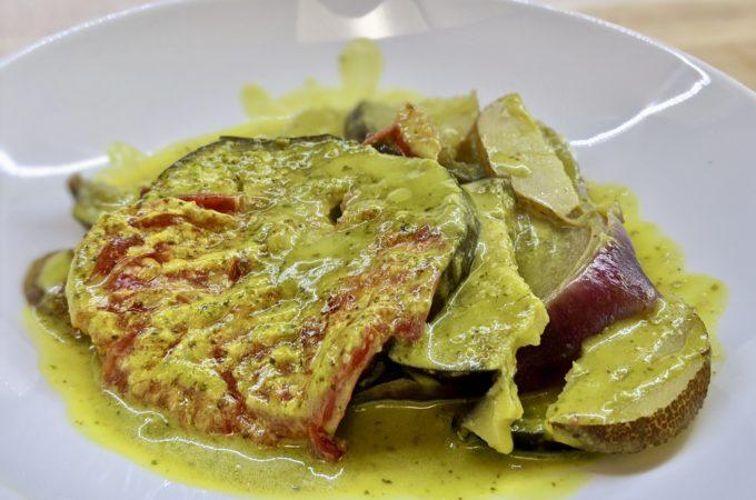 Meal 77 - Brinjal Albaras - Layered Eggplant Dish
