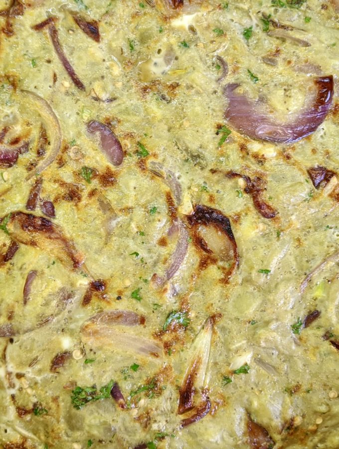 Meal 78 - Marcoude aux Aubergines - Eggplant Omelette