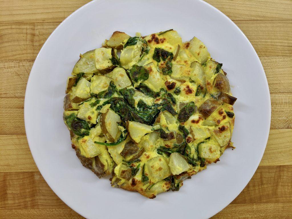 Meal 81 - Fritada de Espinaka - Spinach and Cheese Cake