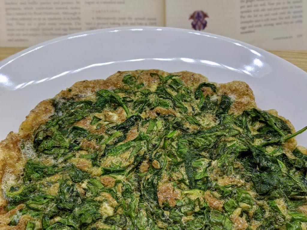 Meal 81 - Tav Sponaw - Spinach Omelette