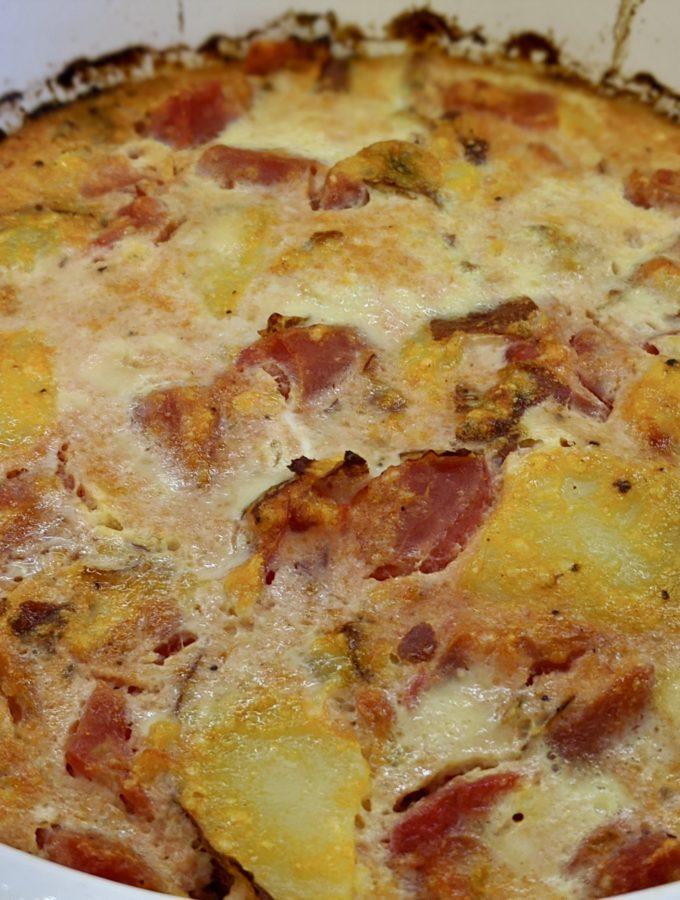 Meal 82 - Fritada de Tomat - Tomato Cake