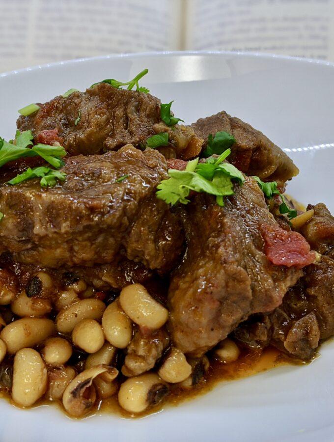 Meal 83 - Loubia - Black-Eyed Pea Stew