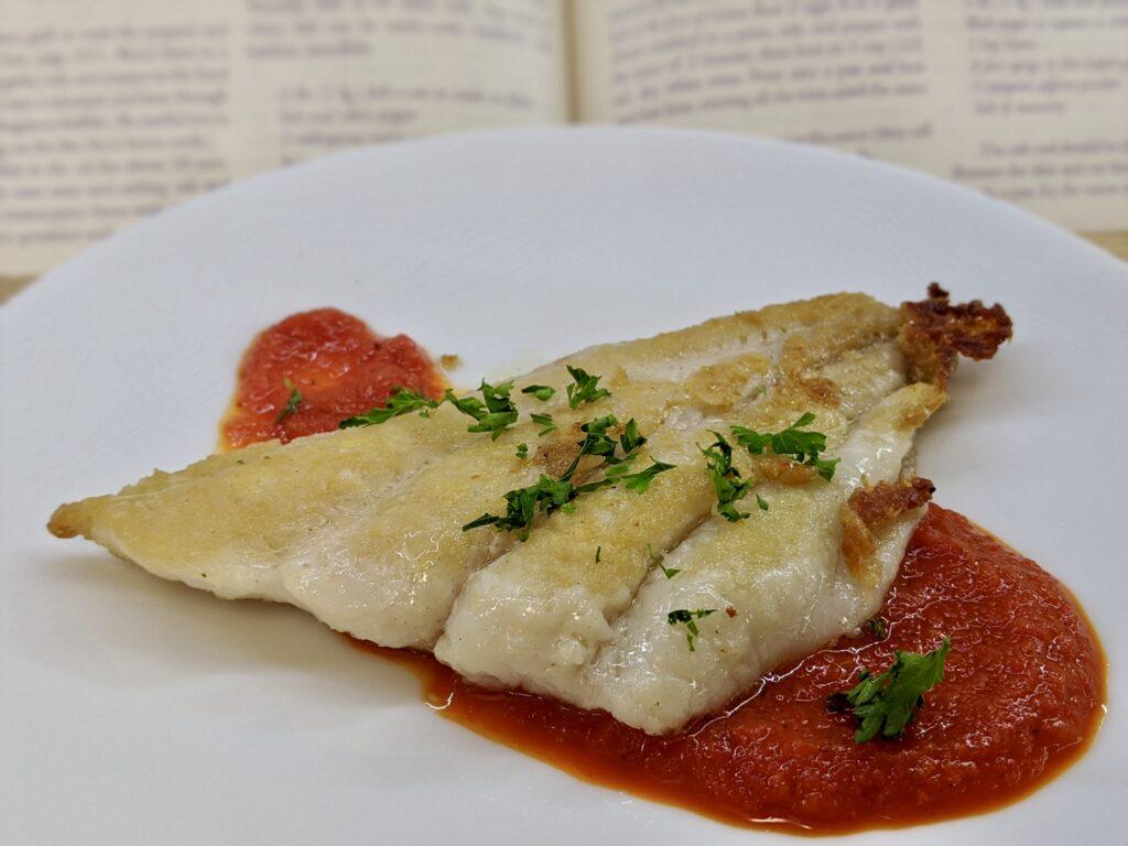 Meal 86 - Poisson Hraymi - Peppery Garlicky Fish