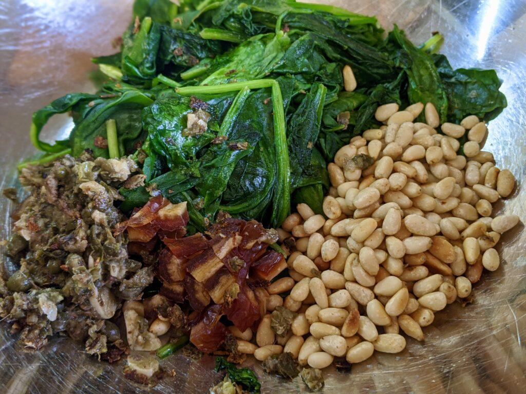 Meal 84 - Tortino di Spinaci - Spinach Cake
