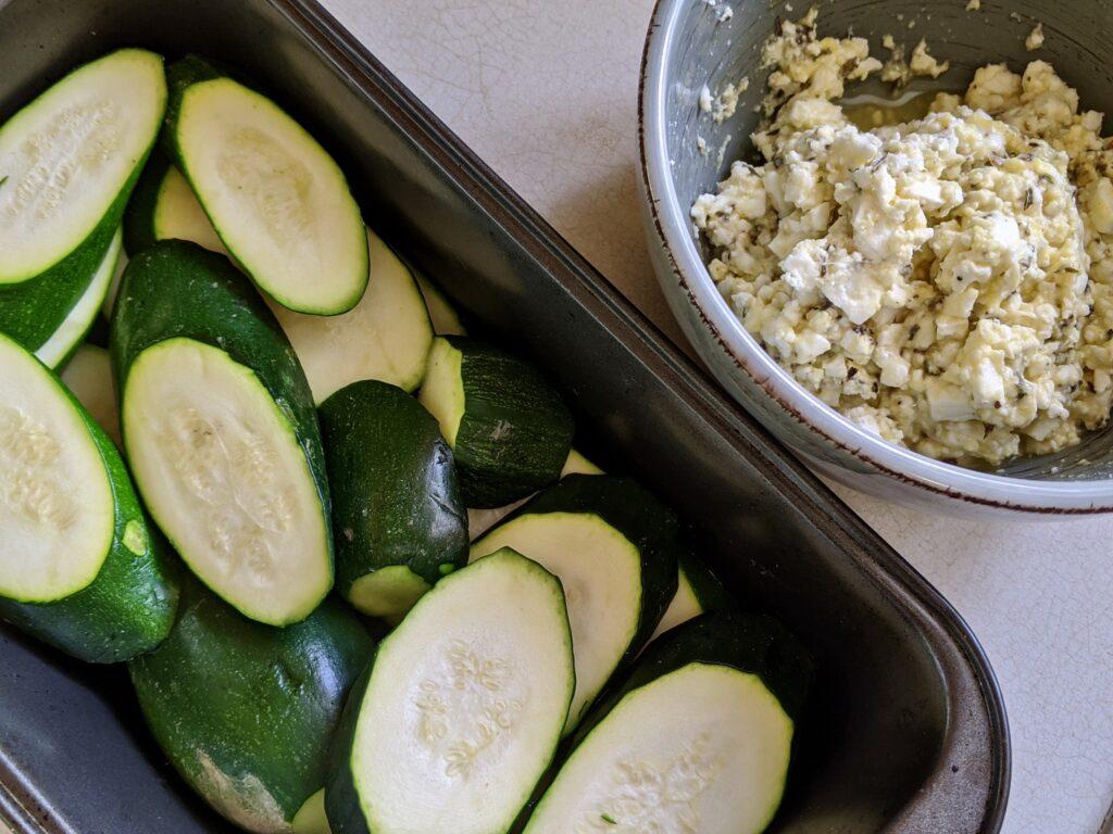Meal 84 - Kalavassika kon Keso - Zucchini and Cheese Gratin