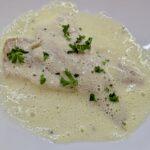 Meal 87 - Pishkado kon Agristada - Fish with Egg-and-Lemon Sauce