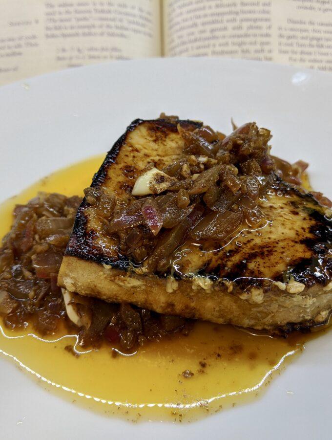 Meal 88 - Sateni - Georgian Fish with Walnut Sauce