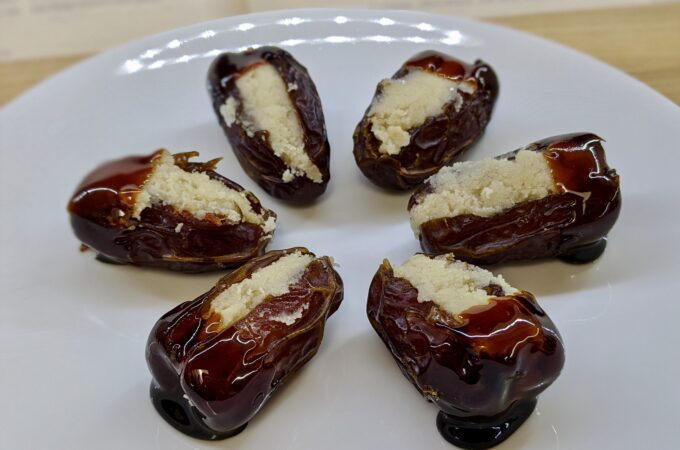 Meal 88 - Dattes Fourrées - Dates Stuffed with Almond Paste