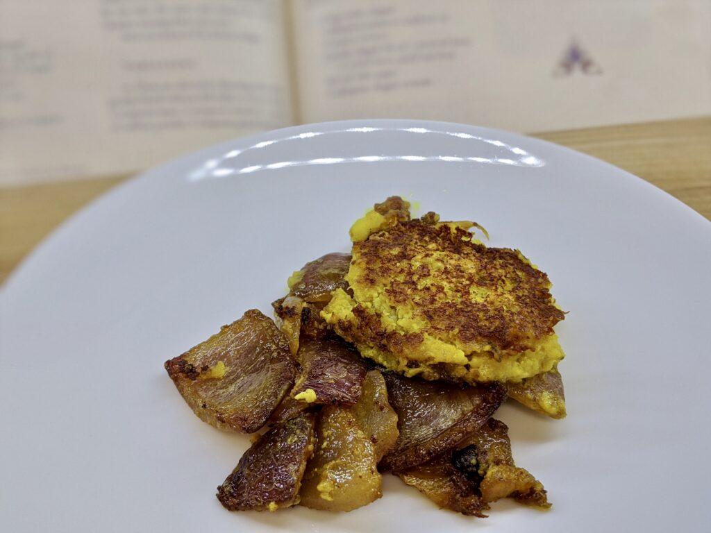Meal 89 - Kefta de Poisson au Coriandre et Citron Confit - Stewed Fish Cakes with Coriander and Preserved Lemon
